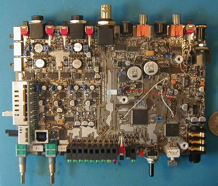 4 channel preamp and A/D